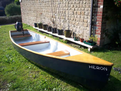 15' Outboard Motor Canoe Plans