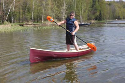"12'x30"" Adirondack Guide Canoe Plans"