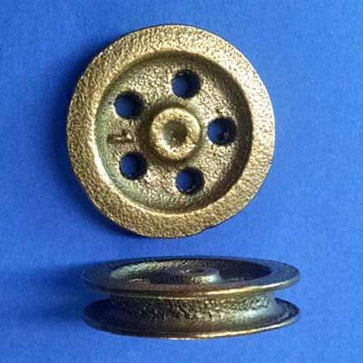 Larger Diameter Bronze Sheave
