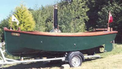 "Rose 15'3"" V Bottomed Plywood Launch Plans"