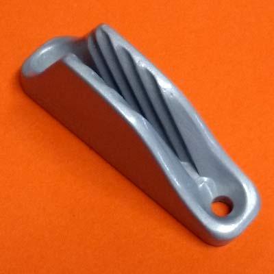 Open Aluminum Boom Clamcleat