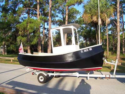 Gill 12 Tugboat Free Plans