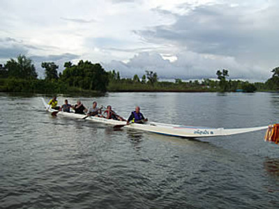 35' Dragon Racing Canoe Plans