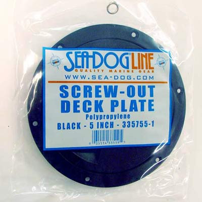 Seadog Polypropylene Screw-out Deck Plates