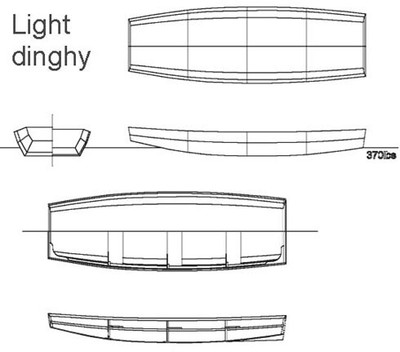 Light Dinghy Free Plans