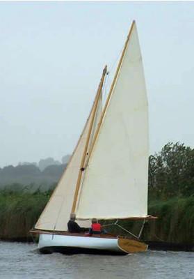 18' Bungay Broads Dayboat