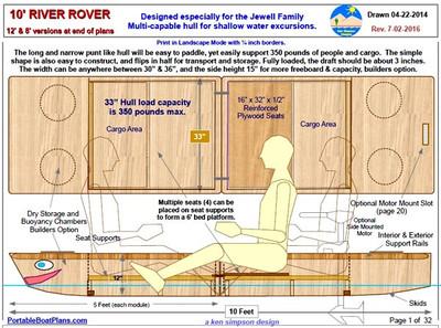 River Rover Plans PDF