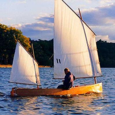 Beth Classic Sailing Canoe Plans PDF