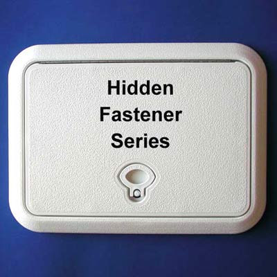 DPI Hidden Fastener Series Access Doors - Polar White