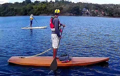 Ta'al Touring Stand Up Paddleboard Printed Plans