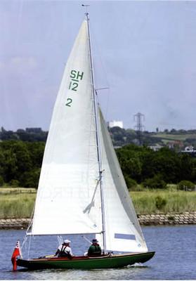 Safe Harbor 12 Strip Planked Daysailer Plans