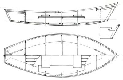 """15'9"""" Drift Boat Plans"""