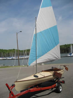 50/50 Sailing Canoe Plans