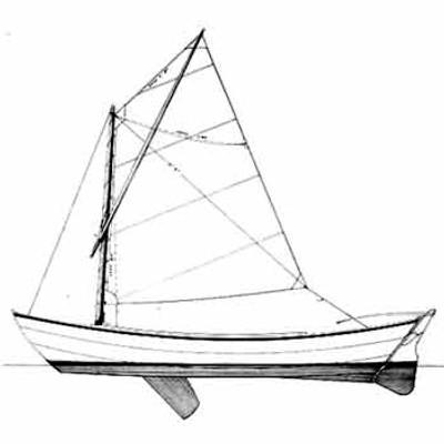 19' Sailing Dory Plans PDF