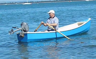 "12'6"" Outboard Motor Canoe Plans"