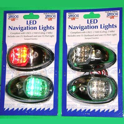 Seadog LED Port and Starboard Navigation Lights