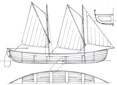 24' New Bedford Whaler Plans
