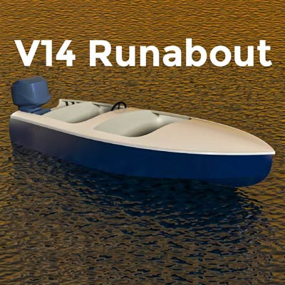 V14 Runabout Plans