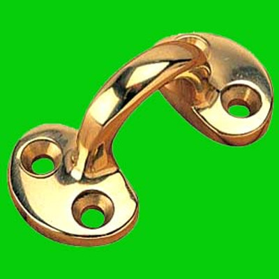 Seadog Cast Brass Strap Eye