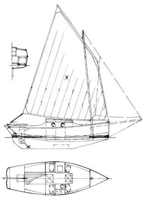 "25' 4"" Breton Lugger Plans"