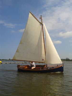13' Woodlark Catboat Plans