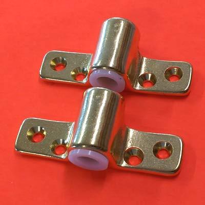 Seadog Premium Brass Side Mount Oarlock Sockets