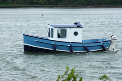 22' Rufus Motor Cruiser Plans
