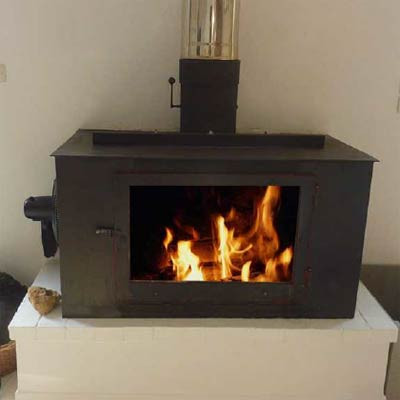 Efficient, Fan Assisted Wood Stove Plans