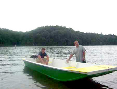 Jonsboat Epoxy Kit