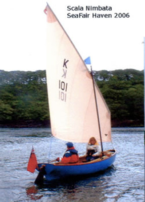 Oxford Strip Planked Sailing/Rowing Skiff Plans