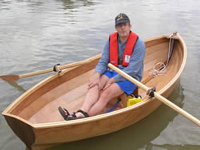 """10'9"""" Medway Skiff Plans"""