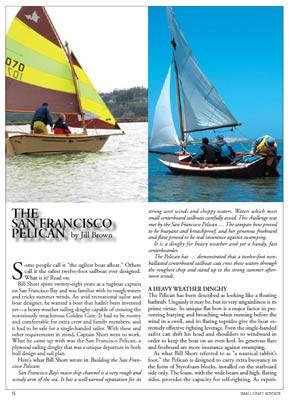 Pelican Sailboat Article Compilation Download