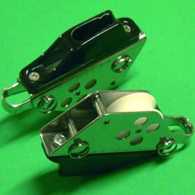 """1/4"""" (6mm) Racelite Block/Cleat combination"""