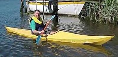"12'6"" Esk Sea Kayak Plans"