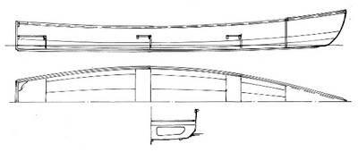 18' Outboard Motor Canoe Plans