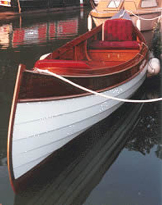 "23'6"" Brambling Electric Canoe Plans"