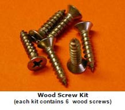 Deckplate Wood Screw Fastener Kits