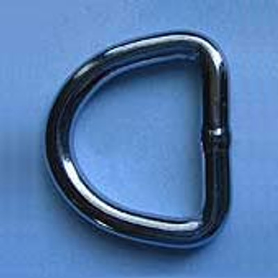 """Stainless """"D"""" Rings"""