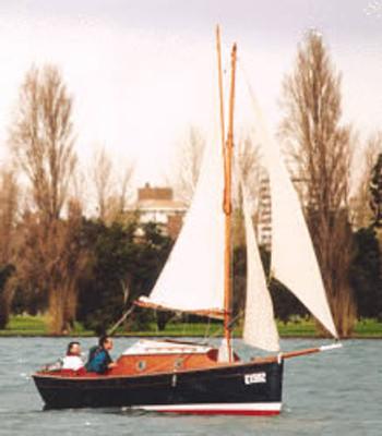 "17'6"" Evening Swan Plans"