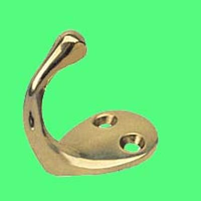 Seadog Brass Single Coat Hook