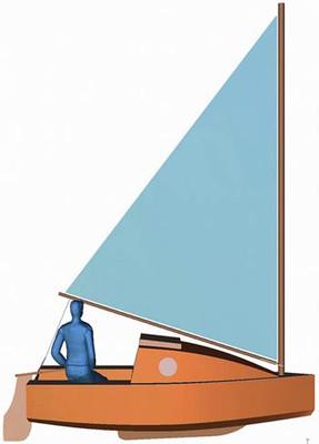 "Naut 350 ""Pico Cruiser"" Plans PDF & Cutting Files"