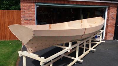 Hartford 18' Plywood Skiff Plans