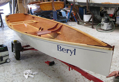 MSD Rowing Skiff Printed Plans