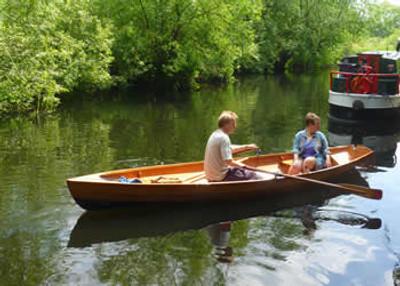 15' Mandarin Rowing Skiff Plans