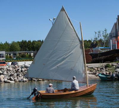 Petrel 13' Catboat Plans