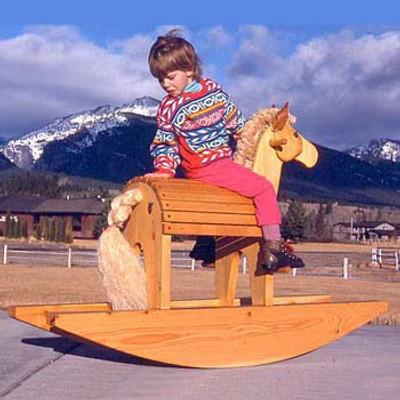 Rocking Horse & Moose Plans PDF