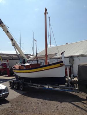 20' Catalan Fishing Boat Plans