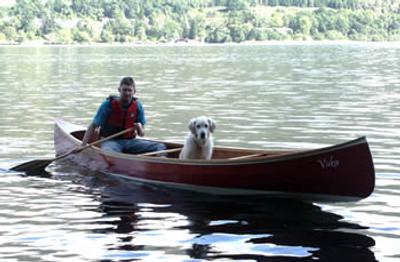 17' Prospector Open Canoe