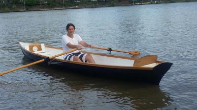 Thames 19' Rowing Skiff Plans