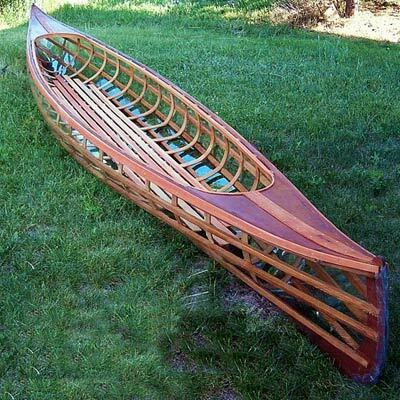 Rushton's IGO Canoe Printed Plans